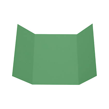 "LUX Gatefold Invitation Envelopes, A7, 5"" x 7"", Holiday Green, Pack Of 1,000"