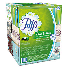 Puffs Plus Lotion 2 Ply Facial