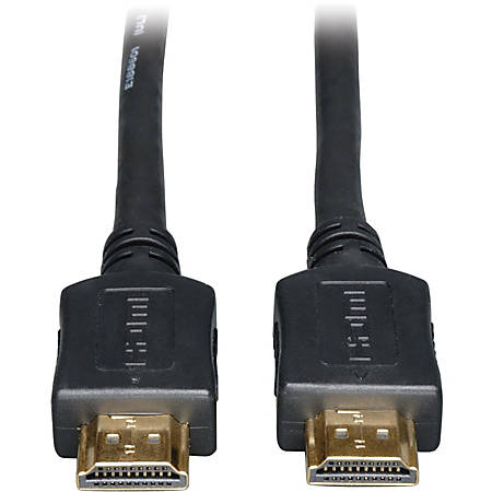 Tripp Lite 3ft High Speed HDMI Cable Digital Video with Audio 4K x 2K M/M 3' - HDMI - 3 ft - 1 x HDMI Male Digital Audio/Video - 1 x HDMI Male Digital Audio/Video - Shielding - Black