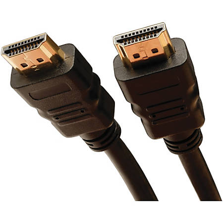 Tripp Lite 6ft High Speed HDMI Cable with Ethernet Digital Video / Audio UHD 4K x 2K M/M 6' - HDMI - 6 ft - 1 x HDMI Male Digital Audio/Video - 1 x HDMI Male Digital Audio/Video - Black