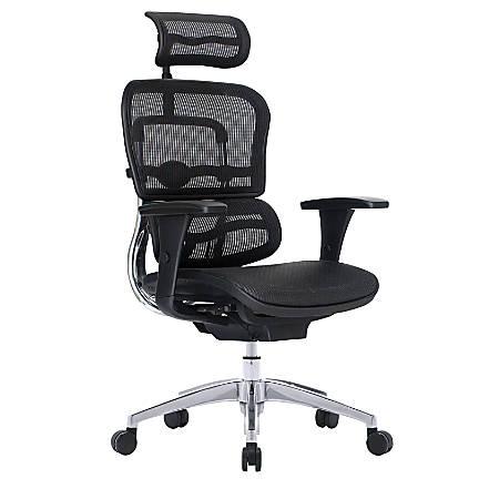 WorkPro® 12000 Mesh High-Back Chair, Black