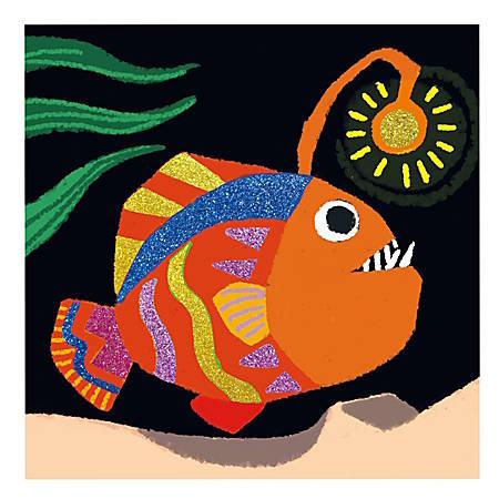 Office Depot® Glitter Art Kit, Under the Sea