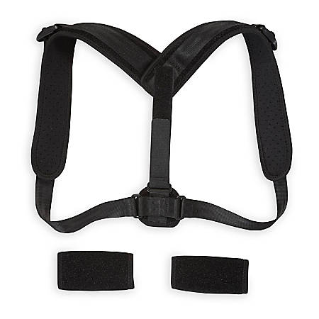 Gaiam Restore Posture Corrector, One Size Fits Most, Black