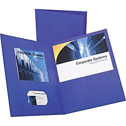 Oxford Twin Pocket Letter size Folders