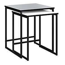 Ameriwood Home Stewart Nesting Tables Square