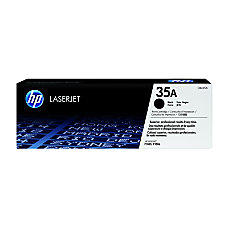 HP 35A Black Original Toner Cartridge