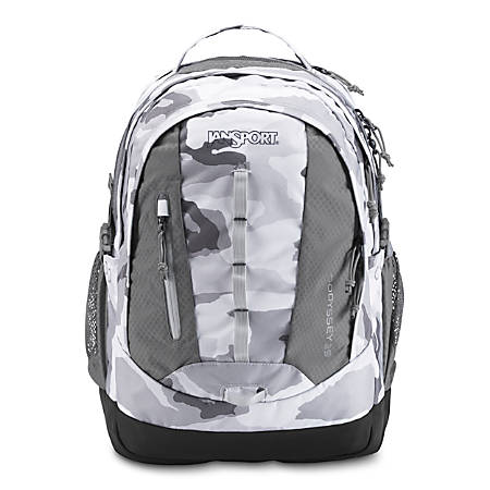 """JanSport® Odyssey Backpack With 15"""" Laptop Pocket, Arctic Camo"""