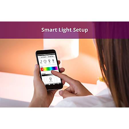 Office Depot Smart Light Setup