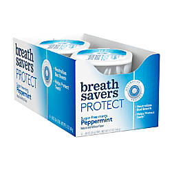 Breath Savers Protect Mints Peppermint 088