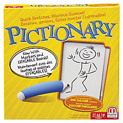 Mattel Pictionary The Classic Quick Draw