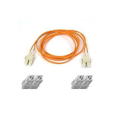 Belkin Duplex Fiber Optic Patch Cable - SC Male - SC Male - 9.84ft
