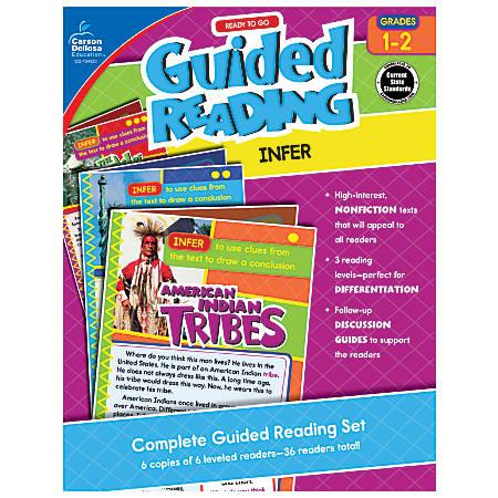 Carson-Dellosa Ready-To-Go Guided Reading, Infer, Grades 1 - 2