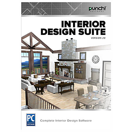 Punch Interior Design Suite V20 Traditional Disc By Office Depot Officemax
