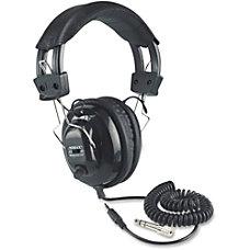 AmpliVox SL1002 Stereo Headphone Stereo Black