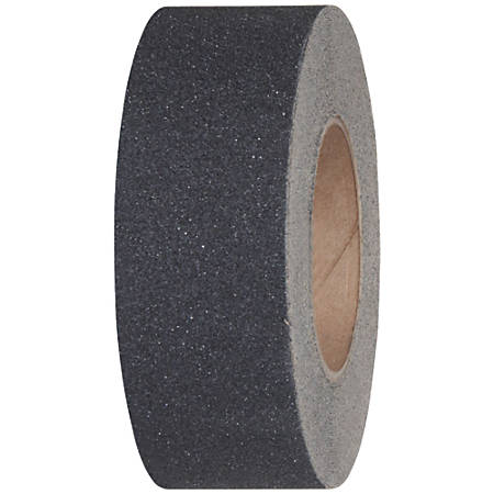 "Tape Logic® Heavy-Duty Antislip Tape, 3"" Core, 2"" x 60', Black"