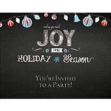 Custom Holiday Invitations 5 12 x