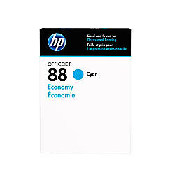 HP 88 Economy Yield Cyan Ink