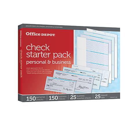 Office Depot® Brand Starter Check Refill Pack