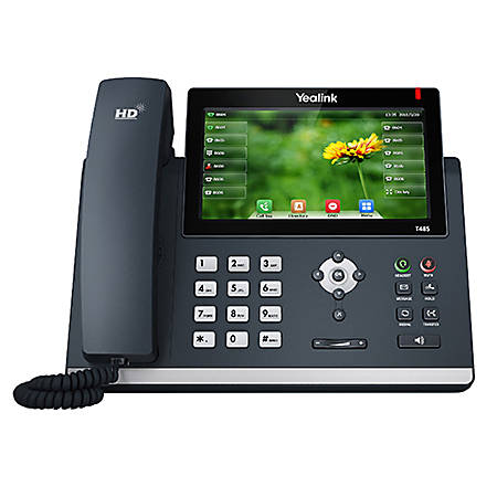 Yealink Ultra-Elegant Touch-Screen VoIP Phone, YEA-SIP-T48S