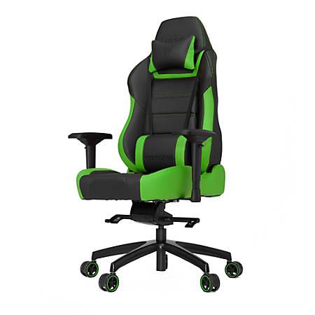 Vertagear Racing Series P-Line PL6000 Gaming Chair, Black/Green