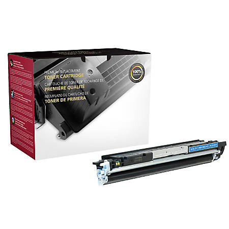 Clover Technologies Group OD126AC Remanufactured Toner Cartridge Replacement For HP 1025 Cyan
