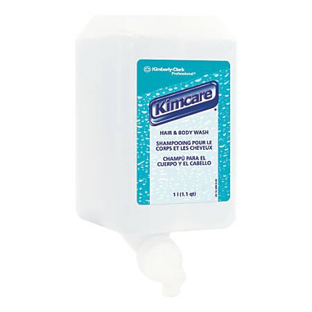 Kleenex® Citrus Floral Hair And Body Wash, 1,000 mL, Carton Of 6