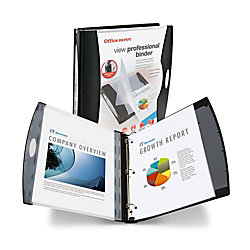 office depot brand view professional binder 1 12 rings