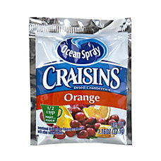 Ocean Spray Craisins Orange Flavored Dried