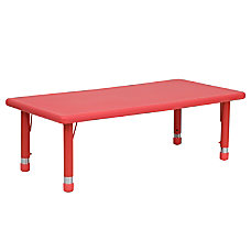 Flash Furniture Rectangular Activity Table 23