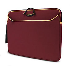 Mobile Edge Notebook Sleeve Neoprene Red