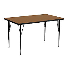 Flash Furniture Rectangular Activity Table 24