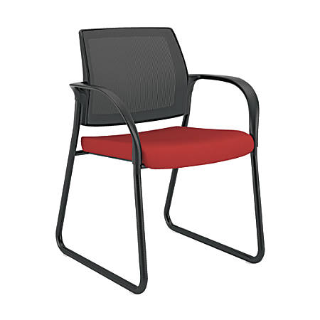 HON® Ignition™ Mesh Back Sled-Base Guest Chair, Poppy