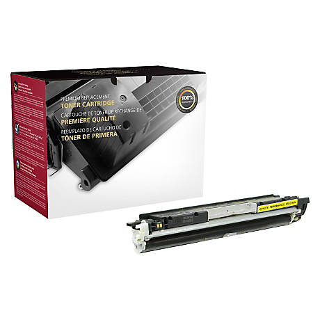 Clover Technologies Group OD126AY Remanufactured Toner Cartridge Replacement For HP 1025 Yellow