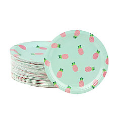 Disposable Plates 80 Count Paper Plates