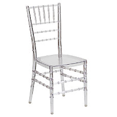 Flash Furniture Elegance Stacking Chiavari Chair
