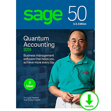 Sage 50 Quantum Accounting 2019 U.S. 3-User