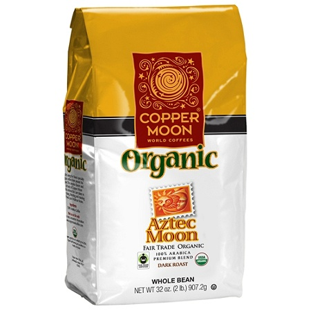 Copper Moon Coffee Whole Bean Aztec Fair Trade 2 Lb Per Bag Case Of 4 Bags By Office Depot Officemax