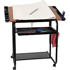 Flash Furniture Adjustable Drawing And Drafting