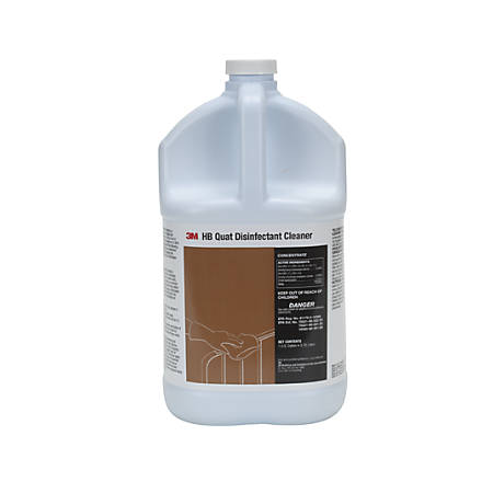 3M HB Quat Disinfectant Cleaner Concentrate, 128 Oz