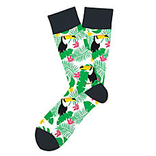 Two Left Feet Tropical Toucan Cotton