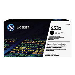 HP 653X CF320X Black Toner Cartridge