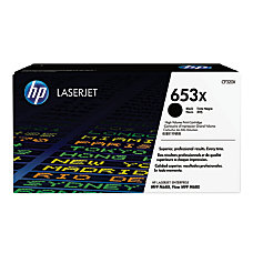 HP 653X CF320X Black Toner Cartridge
