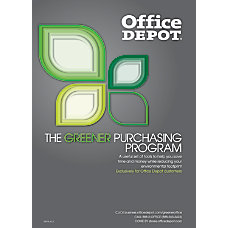 Office Depot Greener Purchasing Program Guide