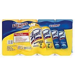 Lysol Disinfecting Wipes Lemon Lime Blossom