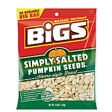 Bigs Pumpkin Seeds Simply Salted 5