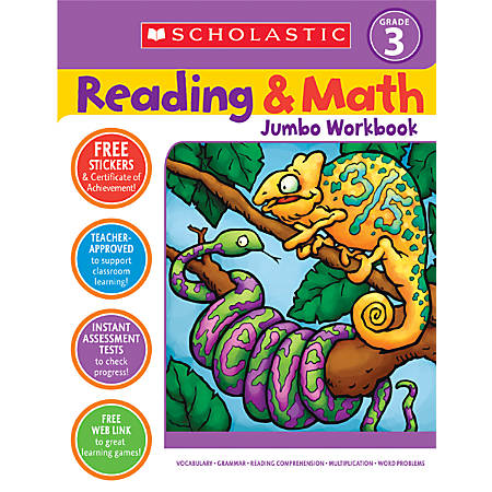 Scholastic Reading/Math — Grade 3