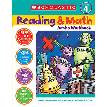 Scholastic Reading/Math — Grade 4