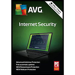 Avast AVG Internet Security 2019, For 3 Devices, 2-Year Subscription, Product Key Card