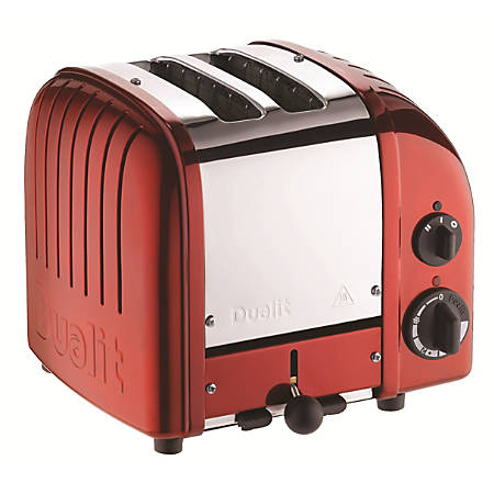 Dualit® NewGen Extra-Wide Slot Toaster, 2-Slice, Apple Candy Red