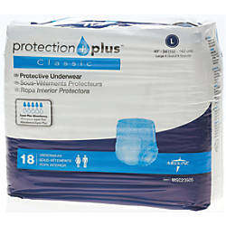 Protection Plus Classic Protective Underwear Large
